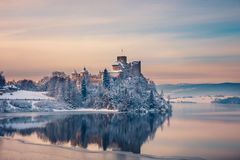 Free Beautiful View Of Niedzica Castle Royalty Free Stock Photography - 104709757