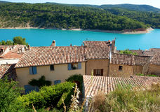 Beautiful View Of St.Croix Lake In Verdon Stock Image