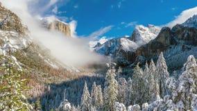 Free Beautiful View Of Yosemite National Park Winter Season In California Stock Image - 124751571