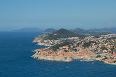 Beautiful view of old town in Dubrovnik Stock Photo