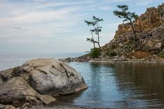 Beautiful view of the Olkhon island. Russia royalty free stock image
