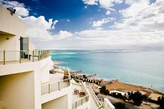 Beautiful View On The Dead Sea Stock Image