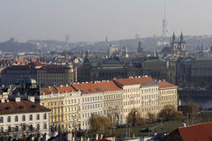 Beautiful view over Prague Stock Photography