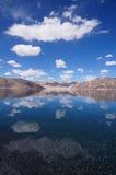 Beautiful view of Pangong Tso in Ladakh, India Royalty Free Stock Image