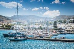 PAROS, GREECE - JUNE 29, 2017: royalty free stock photography