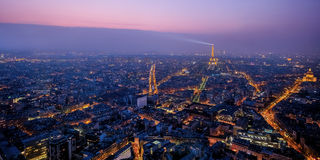 Beautiful view of Paris, France, Eiffel tower Royalty Free Stock Photo