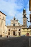 Beautiful view of Parma church, Italy Royalty Free Stock Photo