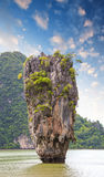 Beautiful view of Phang Nga Bay rocks, James Bond Island, Thaila Royalty Free Stock Photography