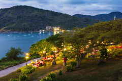 Beautiful view of Phuket island Royalty Free Stock Photo