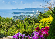 Beautiful view of Phuket island Stock Image