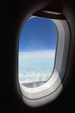 Beautiful view from plane window Stock Photography