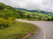 The beautiful view point at Phu tup berk Royalty Free Stock Image