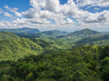 The beautiful view point at Phu tup berk Stock Images