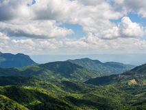 The beautiful view point at Phu tup berk Stock Photography