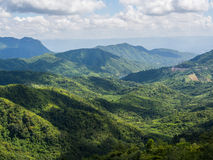 The beautiful view point at Phu tup berk Stock Photo