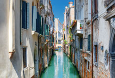 Beautiful view of the Ponte Del Ravano in Venice, Italy Royalty Free Stock Photography
