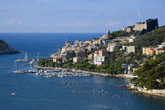 Beautiful view of Porto Venere Royalty Free Stock Photos