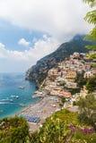 Beautiful view of Positano Stock Photos