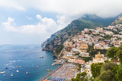 Beautiful view of Positano Royalty Free Stock Images