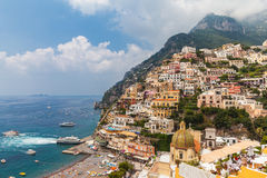 Beautiful view of Positano Royalty Free Stock Photos