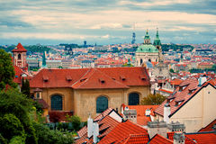 Beautiful view of Prague Royalty Free Stock Photos