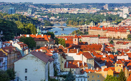 Beautiful view on Prague old town,Czech Republic Royalty Free Stock Photos