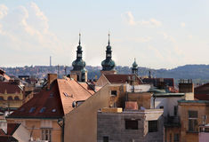Beautiful view of Prague panorama Royalty Free Stock Images