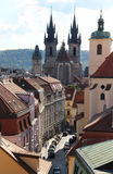 Beautiful view of Prague panorama Stock Photo
