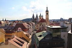 Beautiful view of Prague panorama Stock Photography