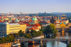 Beautiful view of Prague Stock Image