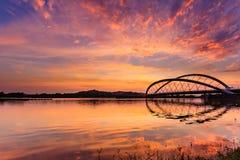 Putrajaya bridge royalty free stock photos