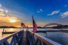 Putrajaya bridge royalty free stock photography
