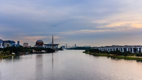 Putrajaya bridge stock images