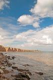 Beautiful view resort landscape, Crimea, Ukraine Stock Photos
