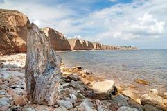Beautiful view resort landscape, Crimea, Ukraine Stock Image