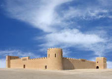 A beautiful view of Riffa Fort Bahrain from East Stock Photography