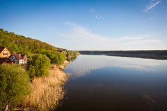 Beautiful view of the river Stock Photos