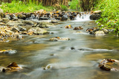 Beautiful view on the river. In brook Stock Photos