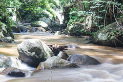 Beautiful view on the river. Coming from Maehaat waterfall in Thailand Stock Photos