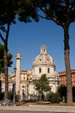 Beautiful view of the Rome centre Royalty Free Stock Image