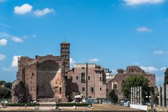 Beautiful view of Rome, Italy Royalty Free Stock Photos