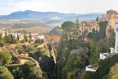 Beautiful view of Ronda Royalty Free Stock Photo