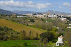 Beautiful view of Ronda Stock Photos