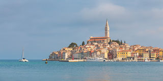 Beautiful View Of Rovinj City, Croatia, Europe Royalty Free Stock Photo