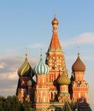 Beautiful view of Saint Basil Cathedral cupola Stock Photography
