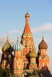 Beautiful view of Saint Basil Cathedral cupola Royalty Free Stock Photo