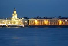 Beautiful view of Saint-Petersburg. Beautiful  night view of Saint-Petersburg, Russia Royalty Free Stock Photo