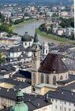 Beautiful view of Salzburg, Austria Stock Image