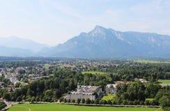 Beautiful view of Salzburg, Austria Stock Photos