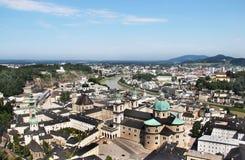 Beautiful view of Salzburg, Austria Stock Photography
